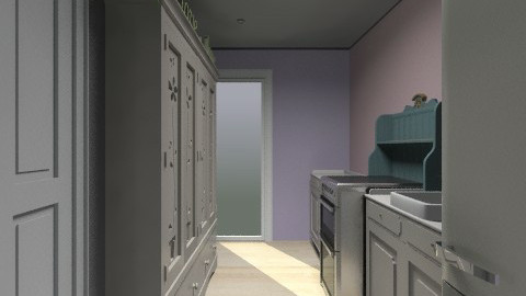 kitchen pink - Vintage - Kitchen  - by jlyus0