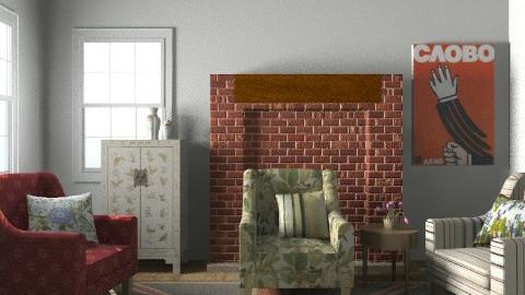 snapshot 1 - Vintage - Living room  - by ocbruner