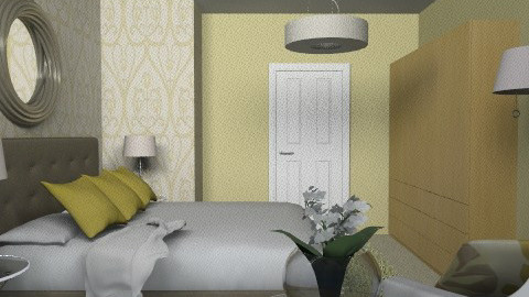 Matliy Bedroom2 - Eclectic - Bedroom  - by channing4
