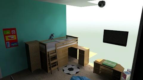 My Dream Home 2nd Floor - Eclectic - Kids room  - by lbarriosch
