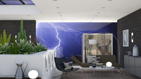 Stormy Livingroom - Living room  - by gwenellen