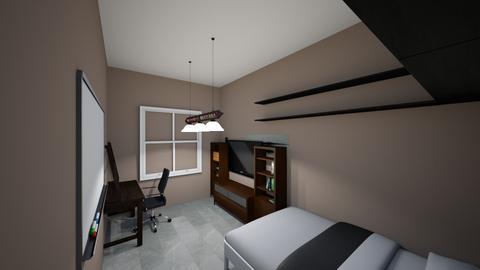 Malik Room - Modern - Bedroom  - by Trillmxl