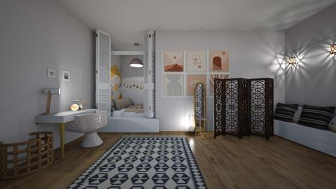 my dream room - Bedroom  - by MillieBB_fan