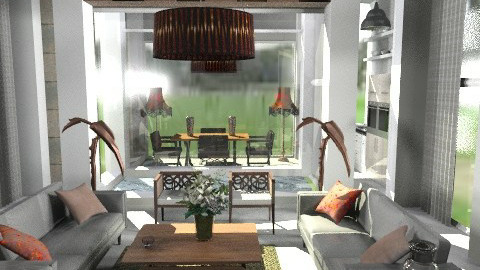 loris - Classic - Living room  - by naki1