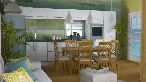 Cotswolds Kitchen 4   - Eclectic - Kitchen  - by channing4