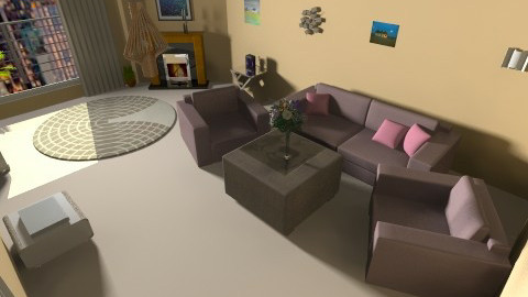 room 56 - Glamour - Living room  - by ivka3131