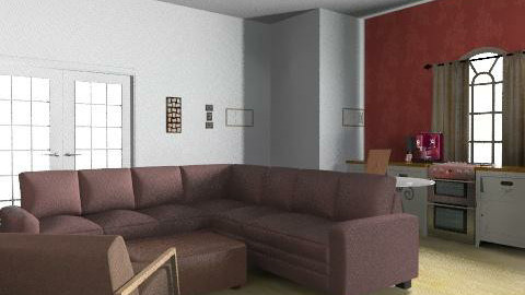 Kitchen/Living Room - Modern - by Lysi