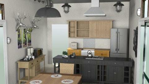 bug - Rustic - Kitchen  - by summerdaystudio
