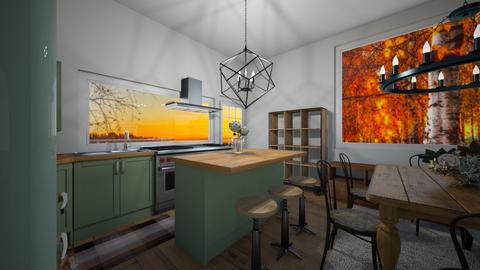 fall kitchen competition  - Classic - Kitchen  - by tessmcquillan