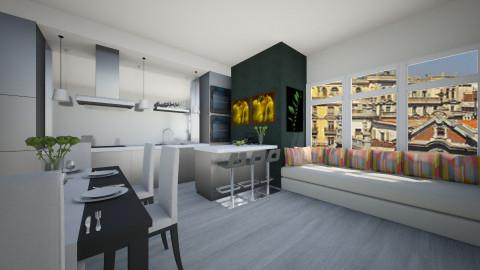 My new kitchen - Modern - Kitchen - by martinabb