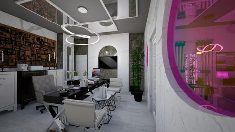 Office_Reception_2_Interiors_ - Modern - Office  - by Nikos Tsokos