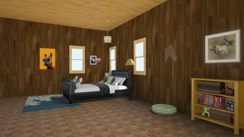 barn room - Country - Kids room  - by omggirl67