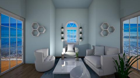 Beach Living - Modern - Living room  - by CocoChanel12