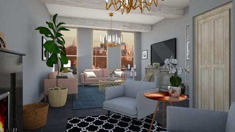 Template room - Modern - Living room - by Maja06