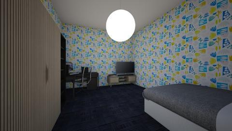 house 1 - Modern - Bedroom  - by yoran123