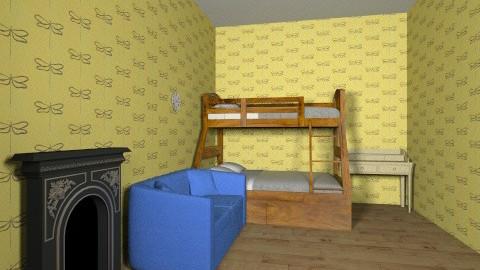 Bedroom 2 - Classic - Bedroom  - by Eliza Domann
