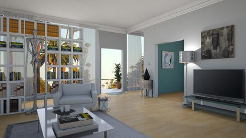 Dexter Morgan - Eclectic - Living room  - by deleted_1524667005_Elena68