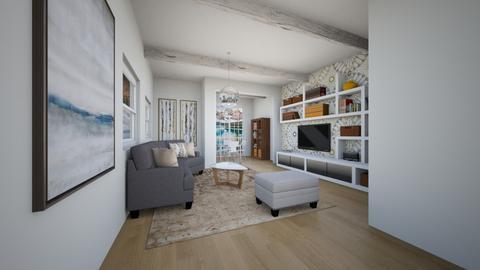 Light Rooms - Living room  - by Feeny