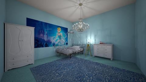 Cinderella bedroom  - by ZoeC3587
