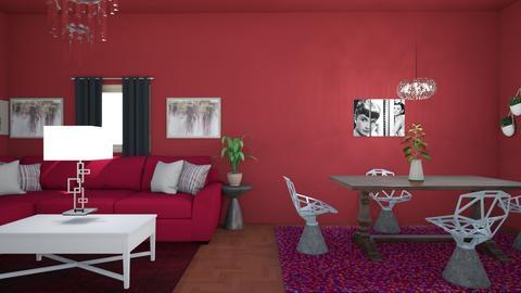 Living Room 1 - Modern - Living room  - by sherrylizhu