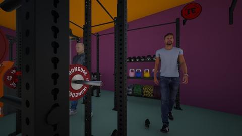ugly gym - Office  - by Kiera Briscoe