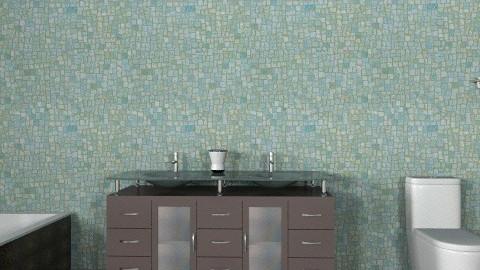 The UpStairs Bathroom - Glamour - Bathroom  - by gilliankyle