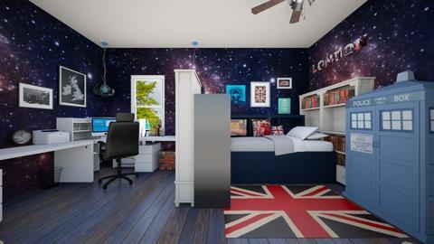 Doctor Who Theme - Kids room  - by SammyJPili