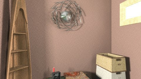 EcoChic - Rustic - Bedroom  - by Alberdeein Funerary