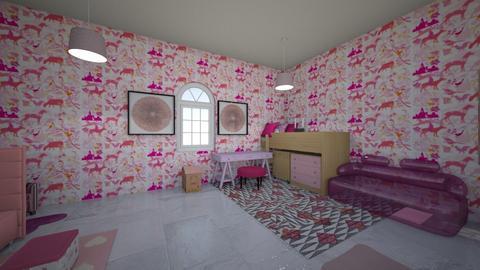 sisters room - Modern - Kids room  - by MarianaGuzman