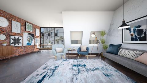 Sophia  - Minimal - Living room  - by Happyspaniel