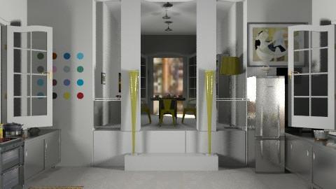 kitdin - Modern - Kitchen  - by ATELOIV87