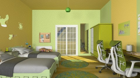 Modern Kids bedroom - Modern - Kids room  - by Sotiria Oups