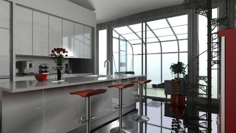 Kitchen - Modern - Kitchen  - by josephinesw