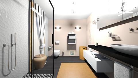 CLAU baie proiect 11 - Bathroom  - by Claudia Ilisan