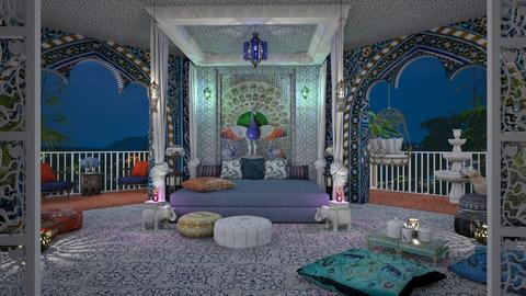 Design 507 Sleeping in India - Bedroom  - by Daisy320