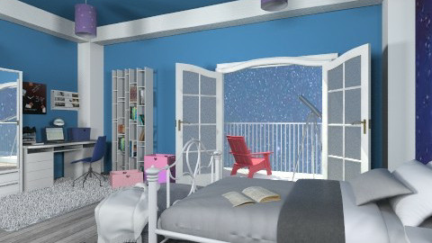 Stars  - Kids room  - by mirkaaa