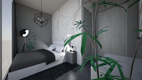 h o t e l_b e d r o o m  - Modern - Bedroom  - by Marlisa Jansen