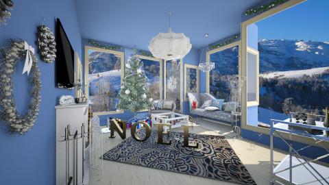 christmas 2015 - Glamour - Living room  - by ClaUdiA N