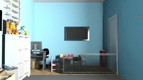 Natália - Eclectic - Kids room  - by natyibb