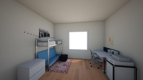dorm - Minimal - Bedroom  - by mackenzierk