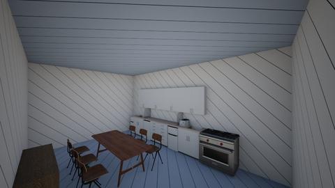 cozinha - Rustic - Kitchen  - by laralivia2101