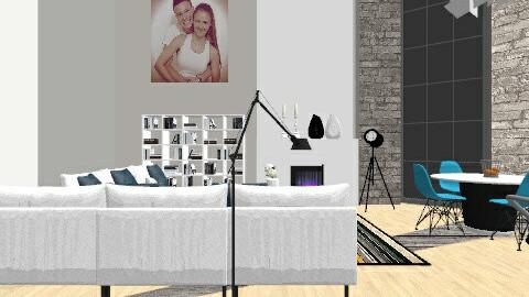 Apartment - Living room - by Kwikuli