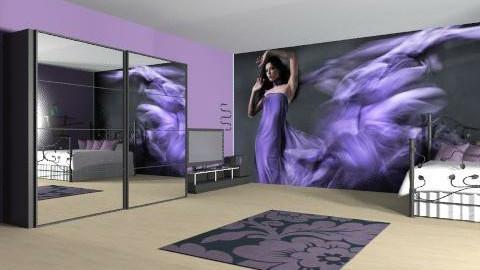 Purple Angel - Modern - Bedroom  - by Loro9