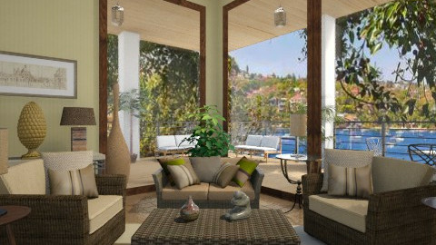 Living room - Living room  - by Linda Koen_326