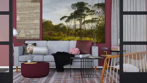 bordeaux  - Modern - Living room  - by HenkRetro1960