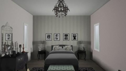 badroom - Retro - Bedroom - by lauraalfei