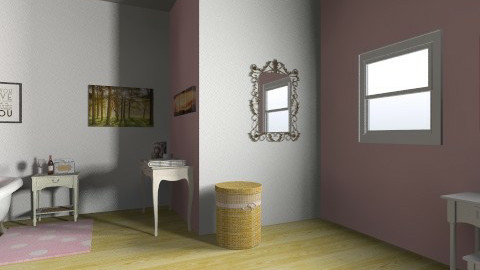 bathroom - Feminine - Bathroom - by leggomylindsay