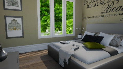 Bedroom 1 - Vintage - Bedroom - by ajkaredzepagic
