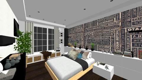 master bedroom - Bedroom  - by amandaquintana