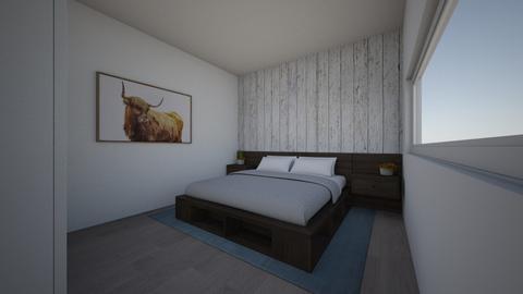Hochlandrind - Bedroom  - by CWidmer